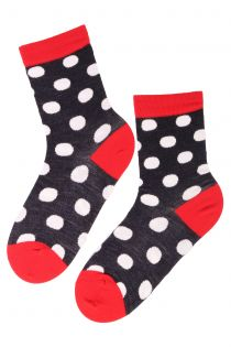 MERINO DOTS dotted merino socks | BestSockDrawer.com