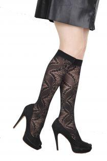 MONICA 20 DEN black knee highs for women | BestSockDrawer.com