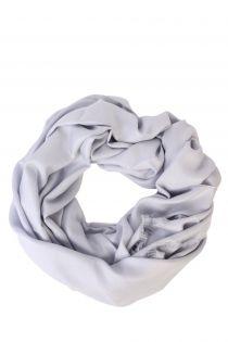 Alpaca Royal wool and silk silver-gray shawl | BestSockDrawer.com