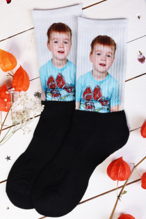 Personalized socks with your own picture | BestSockDrawer.com