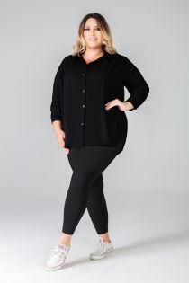 LUIZA queen size black leggings | BestSockDrawer.com