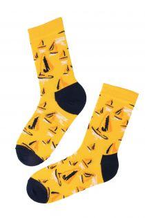 SAILING cotton socks in bright tones | BestSockDrawer.com