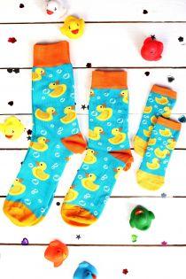 PARDIRALLI blueish-green family gift box 3 pairs of socks | BestSockDrawer.com