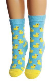PARDIRALLI light blue cotton socks for children | BestSockDrawer.com