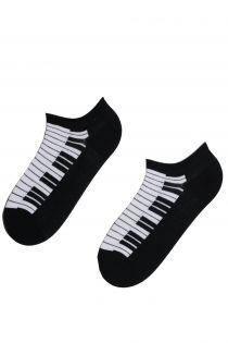 PIANO low cut cotton socks | BestSockDrawer.com