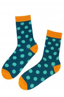 DOTS cotton socks with dot pattern | BestSockDrawer.com
