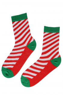 CANDYSHOP striped cotton socks in bright colours | BestSockDrawer.com
