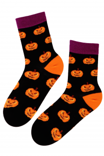 PUMPKIN cotton socks | BestSockDrawer.com