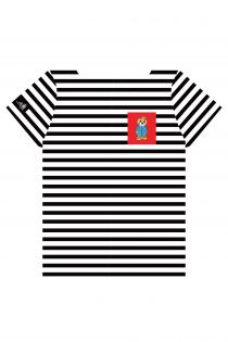 THE TALL SHIPS RACES 2021 stirped shirt with a red pocket | BestSockDrawer.com
