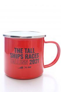 THE TALL SHIPS RACES 2021 red mug | BestSockDrawer.com