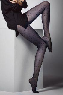 PUNTINI 20DEN marine dotted tights | BestSockDrawer.com