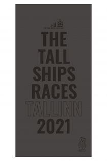 THE TALL SHIPS RACES 2021 grey microfiber towel | BestSockDrawer.com