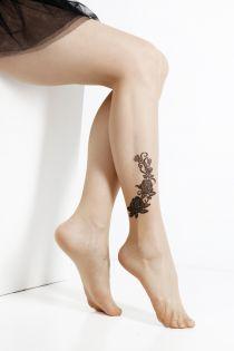 RITA 20 DEN nude tights for women | BestSockDrawer.com