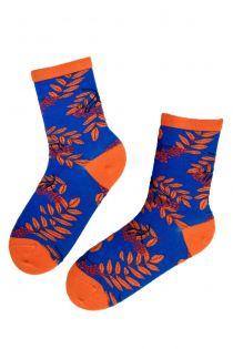 ROWAN patterned cotton socks | BestSockDrawer.com