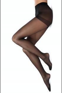 SENSATION Push Up Black nanofiber tights for women | BestSockDrawer.com