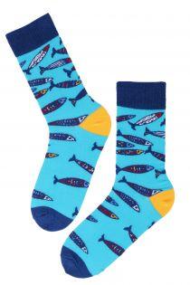 SEAPARTY marine themed cotton socks | BestSockDrawer.com