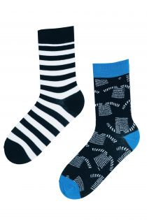SEAMAN marine themed cotton socks | BestSockDrawer.com