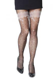 SILVIA 20 DEN black tights for women | BestSockDrawer.com