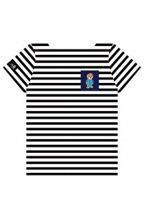 THE TALL SHIPS RACES 2021 stirped shirt with a blue pocker | BestSockDrawer.com