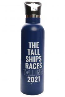 THE TALL SHIPS RACES 2021 blue water bottle | BestSockDrawer.com