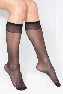 SMART TIGHTS black 30 DEN quickly biodegrading knee-highs | BestSockDrawer.com