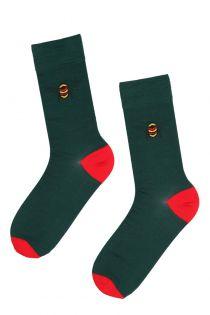 BEEMAN suit socks with bees for men | BestSockDrawer.com