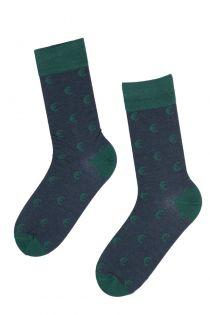 EUROFRIEND suit socks with euro signs for men | BestSockDrawer.com
