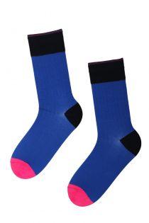 MARCUS blue Dress Socks for Men | BestSockDrawer.com