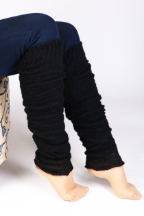 PREMIA black leg warmers | BestSockDrawer.com