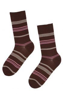 REIN striped men's suit socks | BestSockDrawer.com