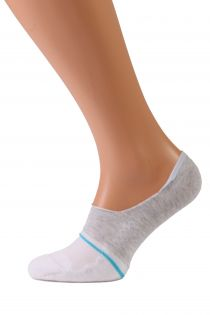 VALERI white no show socks for men | BestSockDrawer.com