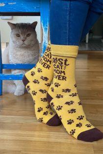 BEST CAT MOM cotton socks | BestSockDrawer.com