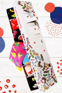 SURPRISE BOX with 7 sock pairs for every week day | BestSockDrawer.com