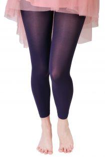 SUSAN purple leggings | BestSockDrawer.com