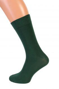 TAUNO dark green men's socks | BestSockDrawer.com