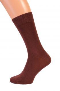 TAUNO brown men's socks | BestSockDrawer.com