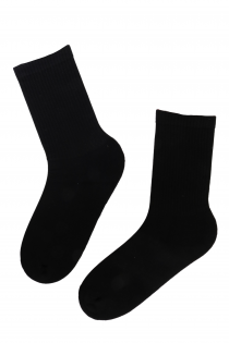 TENNIS black athletic socks | BestSockDrawer.com