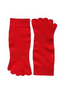 TOES red toe socks | BestSockDrawer.com