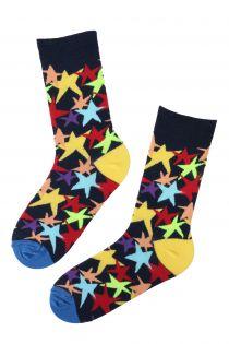 TO STARS bright cotton socks | BestSockDrawer.com