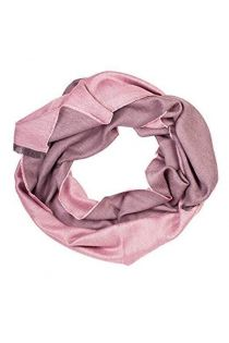Alpaca wool and silk double face pink shawl | BestSockDrawer.com