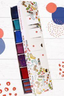 FANCY gift box with men's dress socks for every week day | BestSockDrawer.com