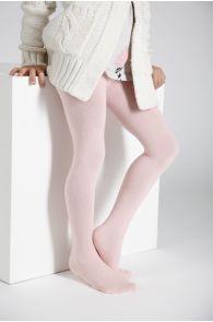 CALDO pink cotton tights for children   BestSockDrawer.com