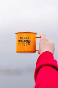 THE TALL SHIPS RACES 2021 yellow mug | BestSockDrawer.com