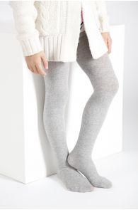 CALDO grey cotton tights for chldren | BestSockDrawer.com