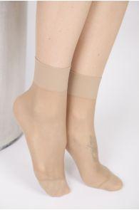 FEM sheer nude socks, 2-pack | BestSockDrawer.com