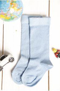 GIGI blue baby knee-highs | BestSockDrawer.com