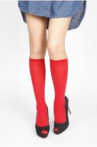 CADRI red knee-highs | BestSockDrawer.com