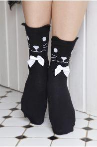 KITKAT women's socks with bows | BestSockDrawer.com