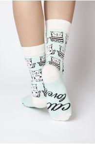 CAT LOVER women's socks   BestSockDrawer.com