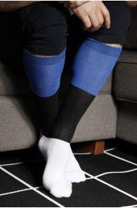 EESTI men's cotton knee-highs in the colours of the Estonian flag | BestSockDrawer.com